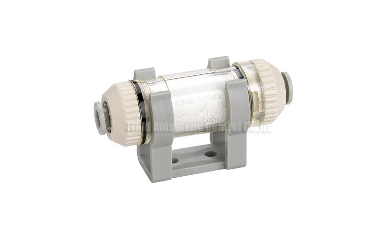 -100Kpa ~ 0Kpa In Line Type Vacuum Filter With Rapid Push-in Connector For Plastic Tubing
