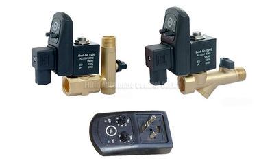 16bar 5mm het Automatische Afdruiprek van de Messingstijdopnemer met Zeeffilter en Drainageklep